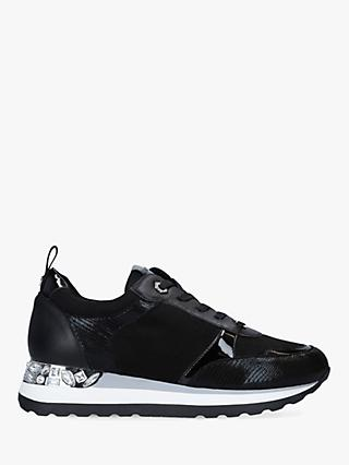 Carvela Jemm Suede Lace Up Trainers