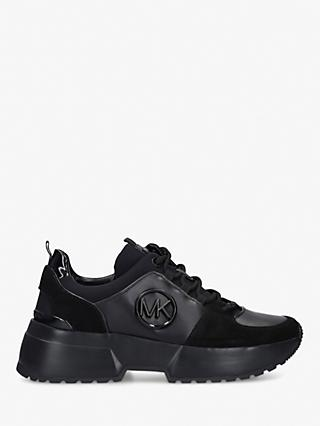 MICHAEL Michael Kors Cosmo Lace Up Trainers, Black