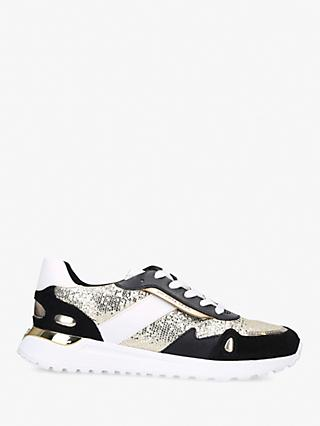 MICHAEL Michael Kors Monroe Lace Up Trainers, Gold