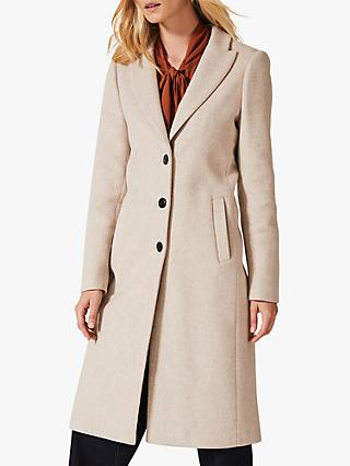 Phase Eight Samantha Single Breasted Wool Coat