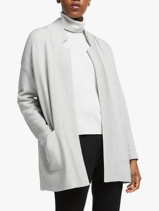 EILEEN FISHER Wool Blend Cardigan, Pearl/Soft White