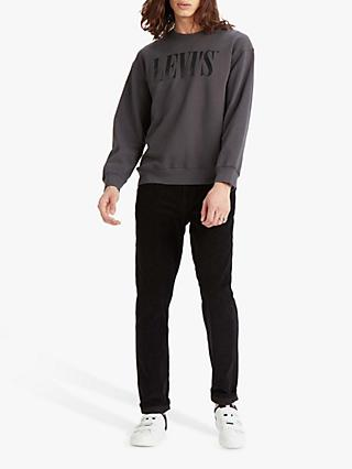 Levi's Relaxed Graphic Crew Neck Sweatshirt, Forged Iron
