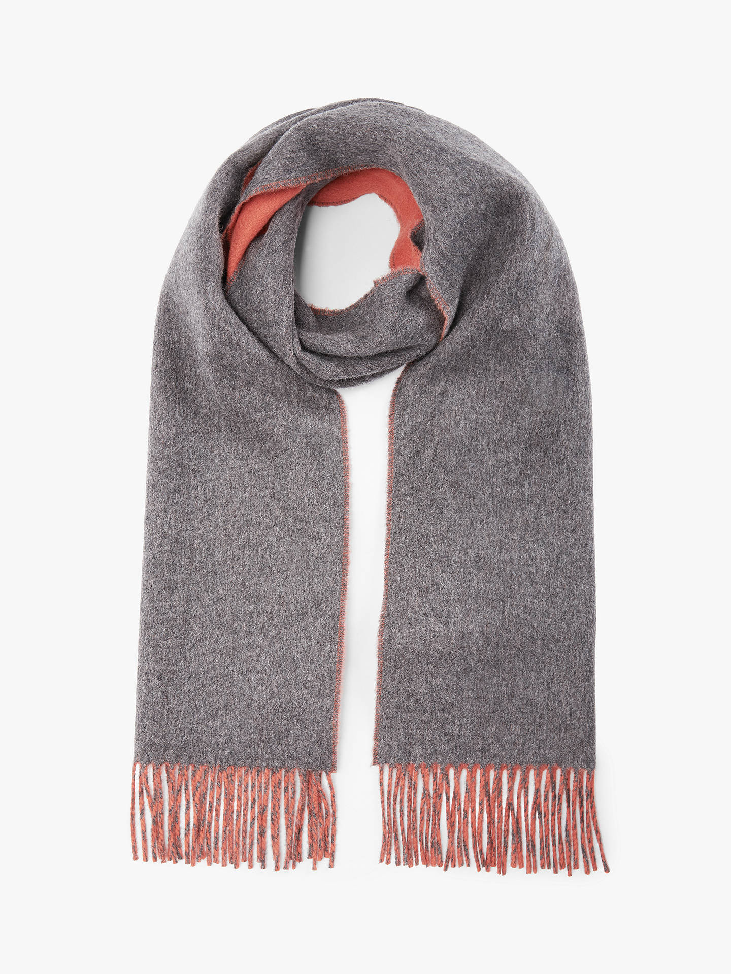 Elgin Reversible Cashmere Scarf