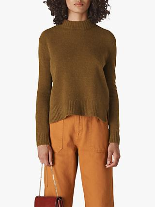 Whistles Ribbed Neck Knit Jumper