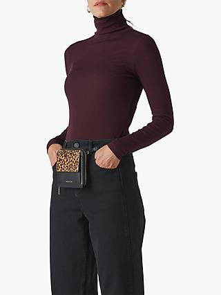 Whistles Essential Polo Neck Jumper