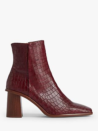 Jigsaw Conduit Leather Ankle Boots