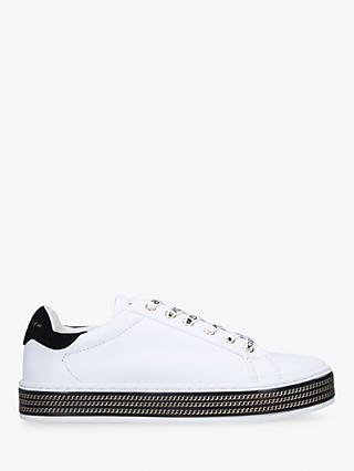 Kurt Geiger London Lambert Low Top Trainers, White