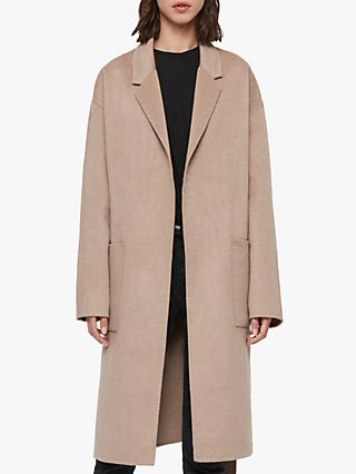 AllSaints Albie Wool Blend Coatigan