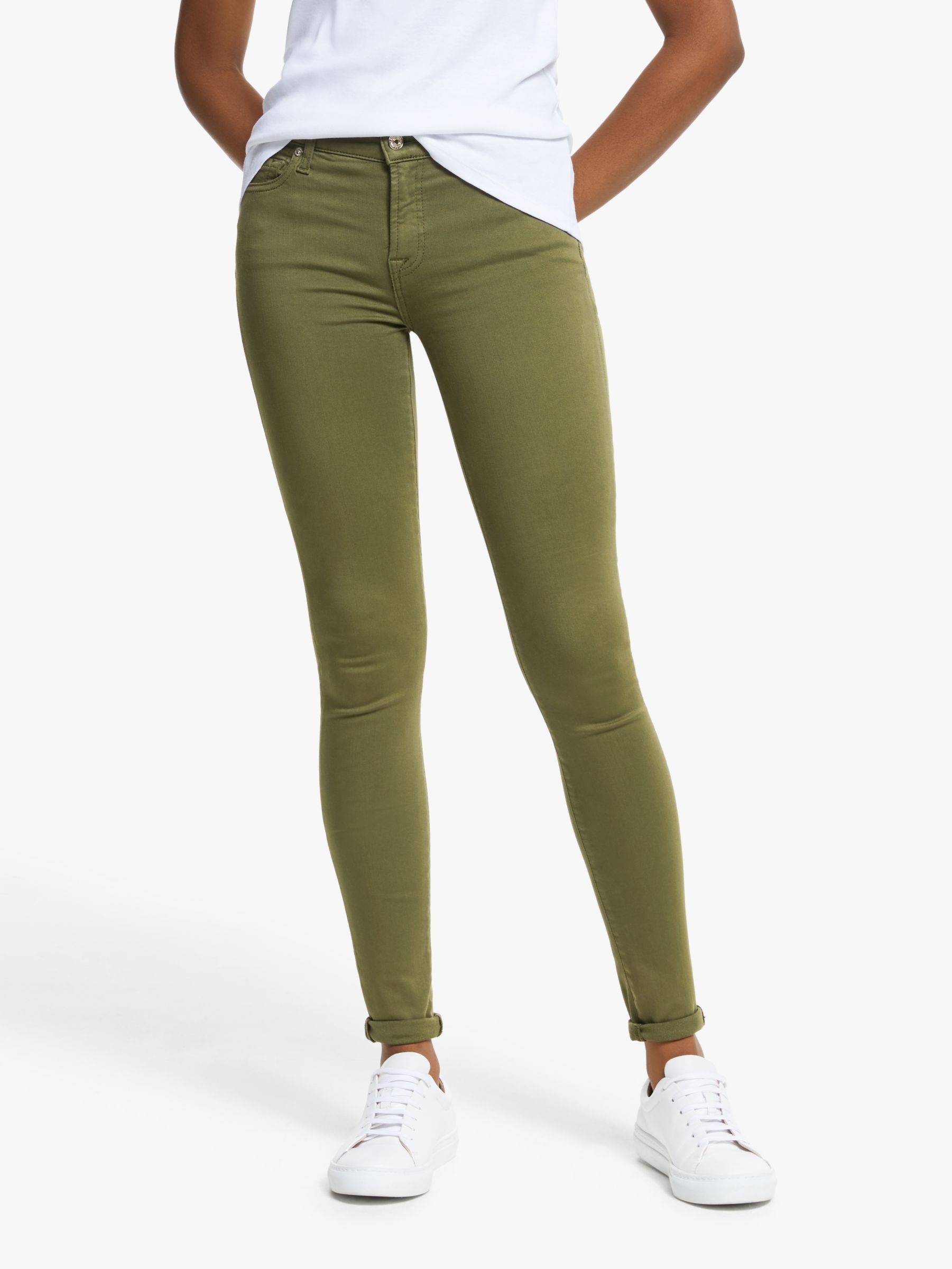 7 For All Mankind 7 For All Mankind Skinny Slim Illusion Jeans
