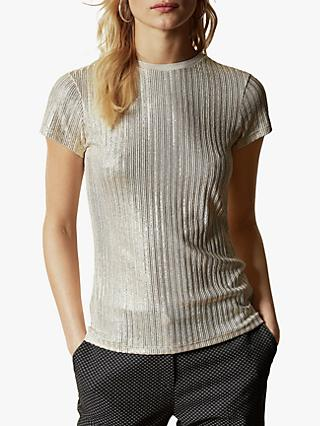 Ted Baker Catrino Metallic T-Shirt