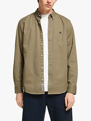 Carhartt WIP Madison Shirt, Leather