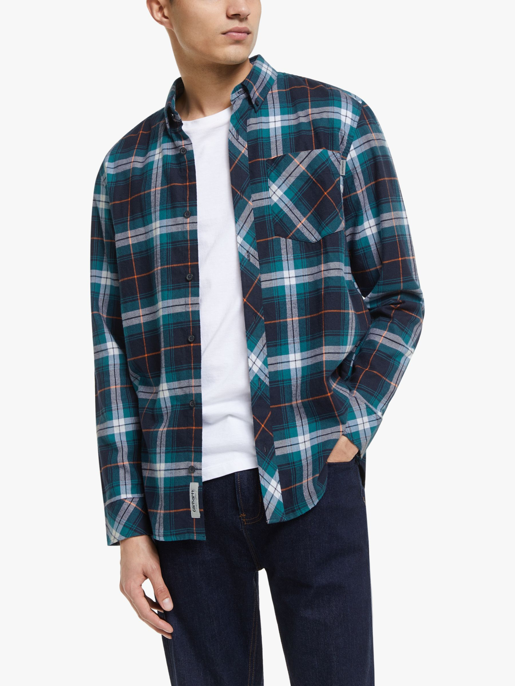 Carhartt WIP Carhartt WIP Phil Check Shirt, Blue