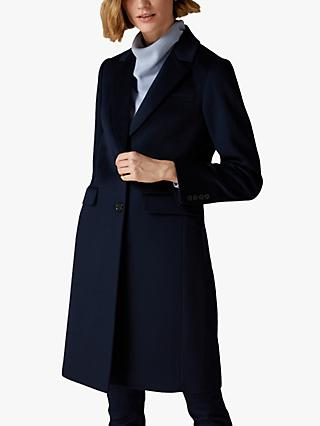 Jaeger Wool Boyfriend Coat