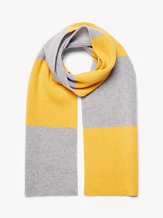 Country of Origin Striped Lambswool Scarf