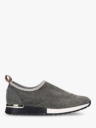 Carvela Comfort Cracker Slip-On Fabric Trainers