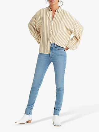 Levi's Margot Stripe Blouse, Sandshell