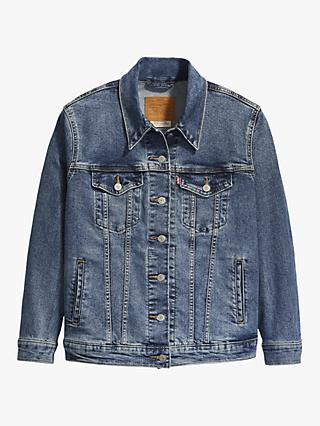 Levi's Plus Ex-Boyfriend Trucker Jacket, Soft As Butter