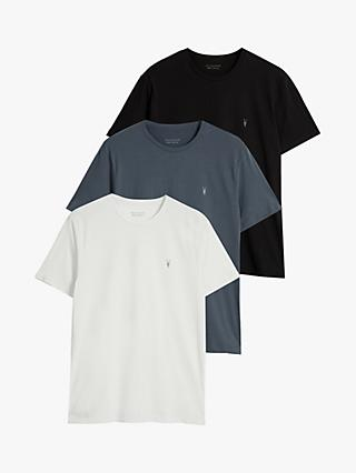 AllSaints Brace Tonic Crew Neck T-Shirt, Pack of 3