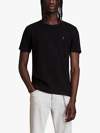AllSaints Muse T-Shirt, Jet Black