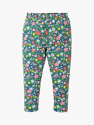 Frugi Baby GOTS Organic Cotton Floral Leggings, Multi