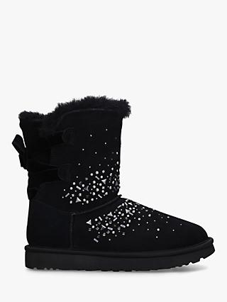 UGG Classic Galaxy Short Sheepskin Ankle Boots, Black