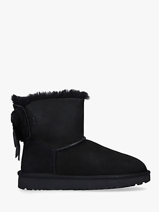 UGG Classic Double Bow Mini Ankle Boots