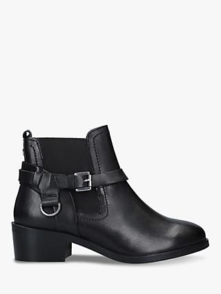 Carvela Saddles Leather Ankle Boots
