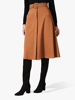 Phase Eight Utility A-Line Skirt, Spice