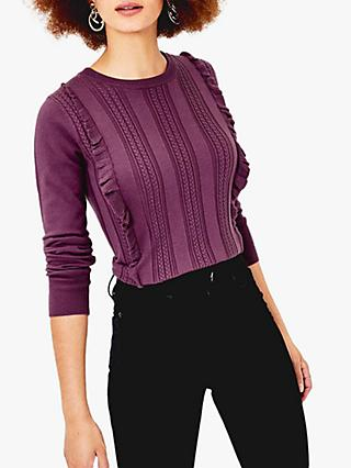 Oasis Francesca Cable Knit Jumper