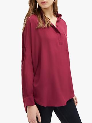 French Connection Crepe Pocket Shirt