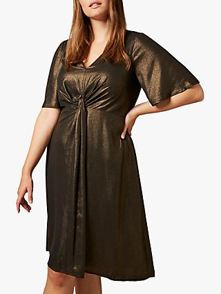 Studio 8 Wren Knot Dress, Gold