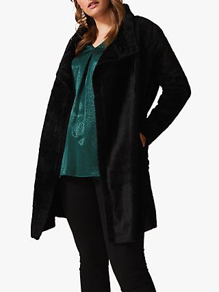 Studio 8 Fiona Fluffy Cardigan, Black
