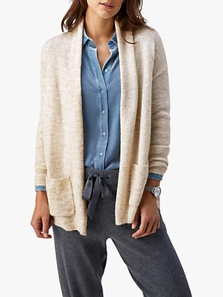 Pure Collection Brushed Cardigan