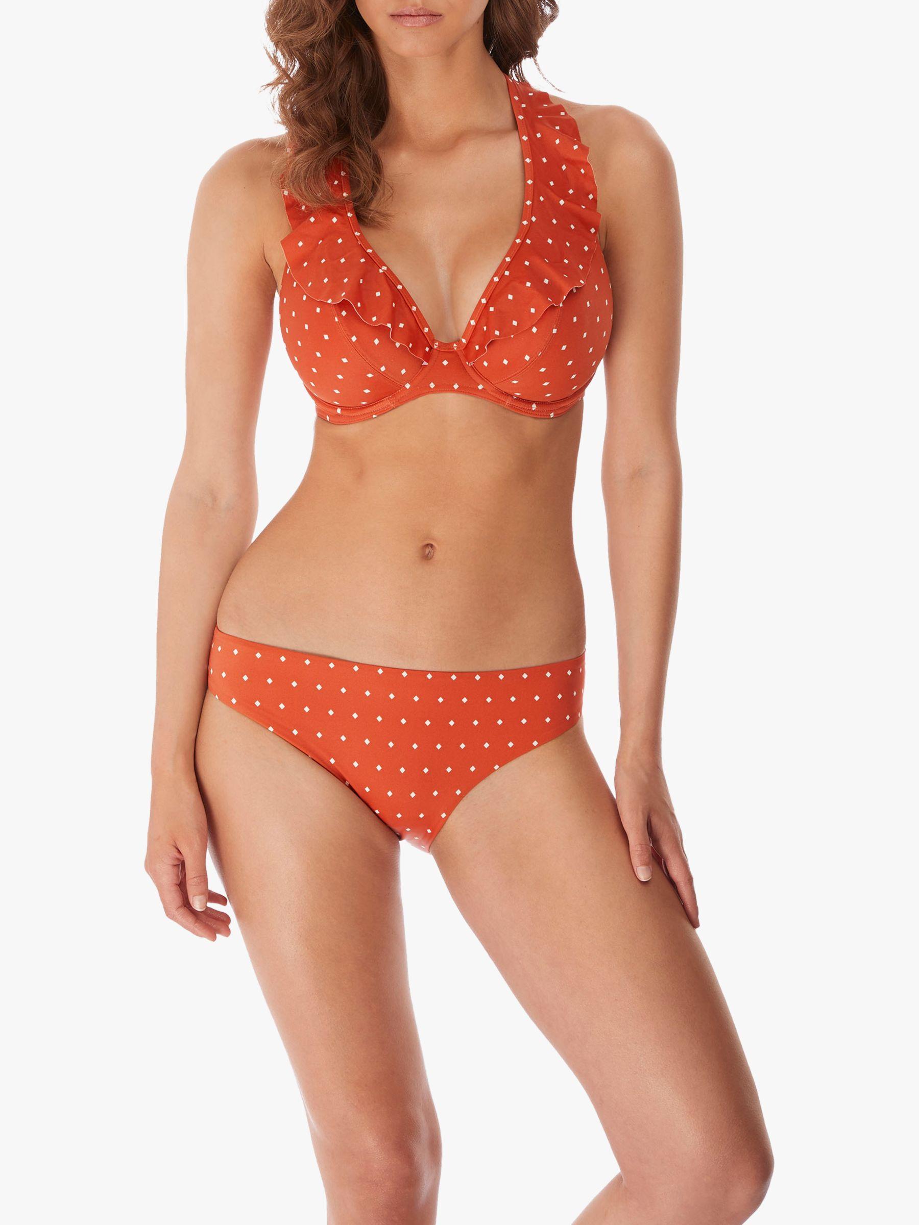 Freya Freya Jewel Cove Bikini Top, Amber
