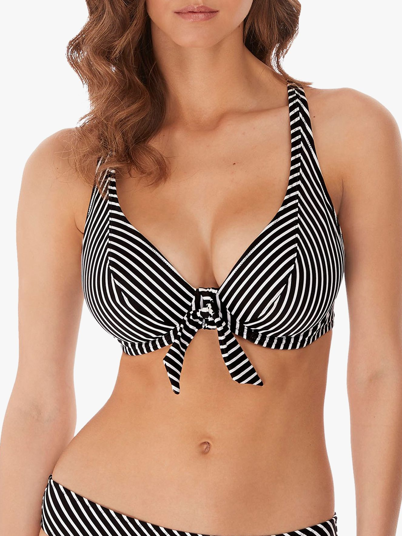 Freya Freya Beach Hut Bikini Top, Black