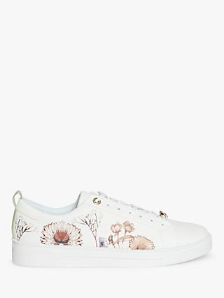 Ted Baker Riallii Low Top Trainers, White