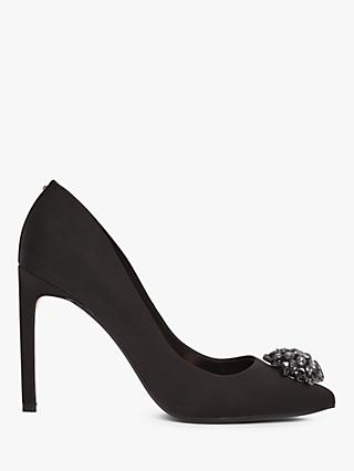 Ted Baker Brydien Brooch Detail Court Shoes