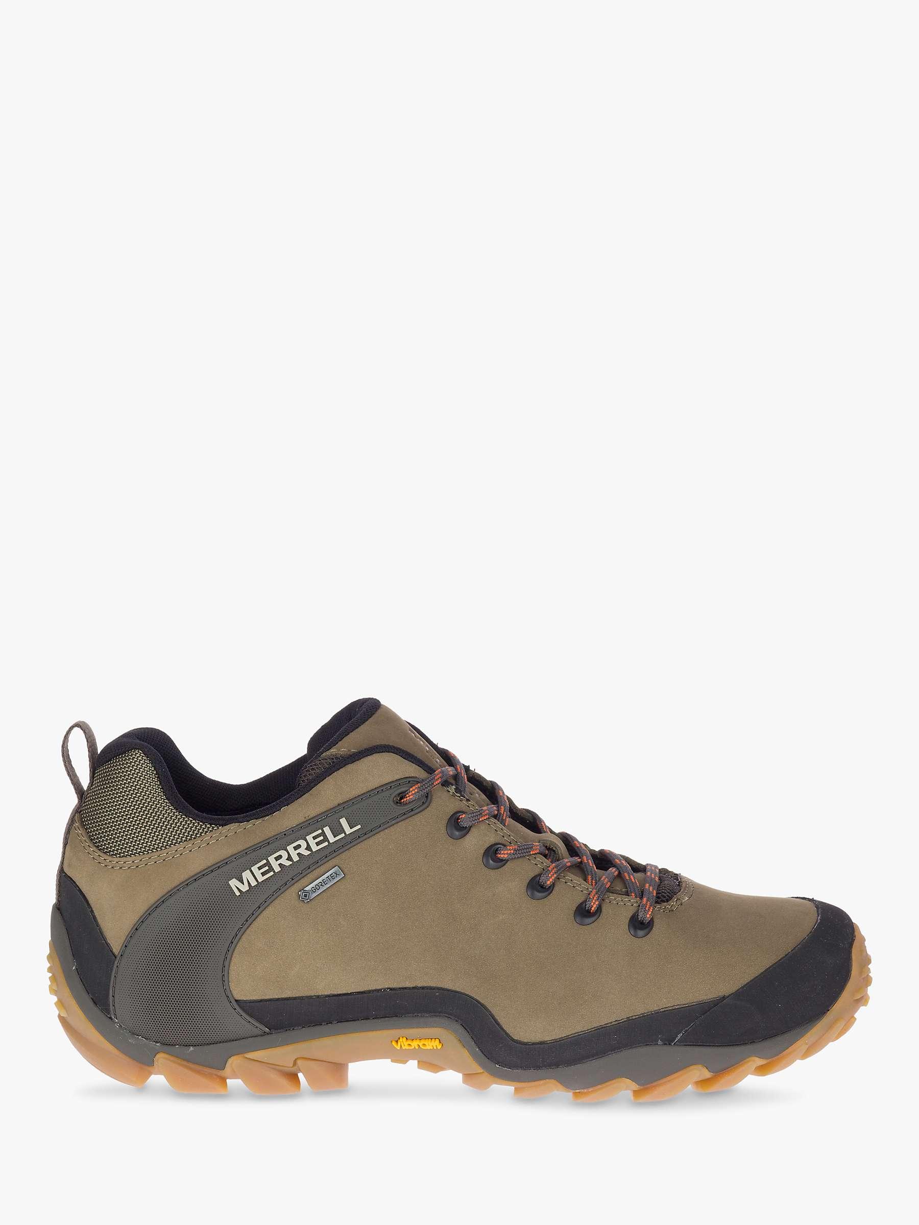 Confezione da mettere bolla compatto  Merrell Chameleon 8 Men's Waterproof Gore-Tex Walking Shoes, Olive at John  Lewis & Partners