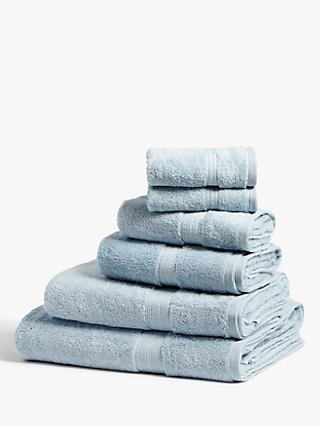 John Lewis & Partners Silky Suvin Cotton Towels