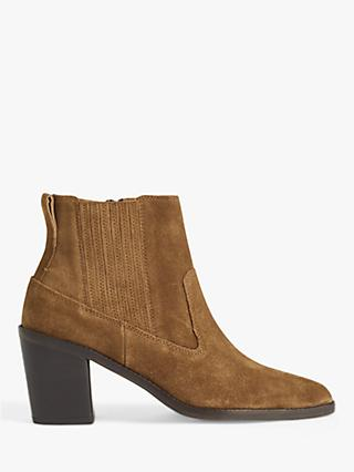 Jigsaw Adrienne Suede Ankle Boots