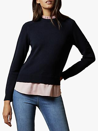 Ted Baker Lissiah Rib Detail Sweater