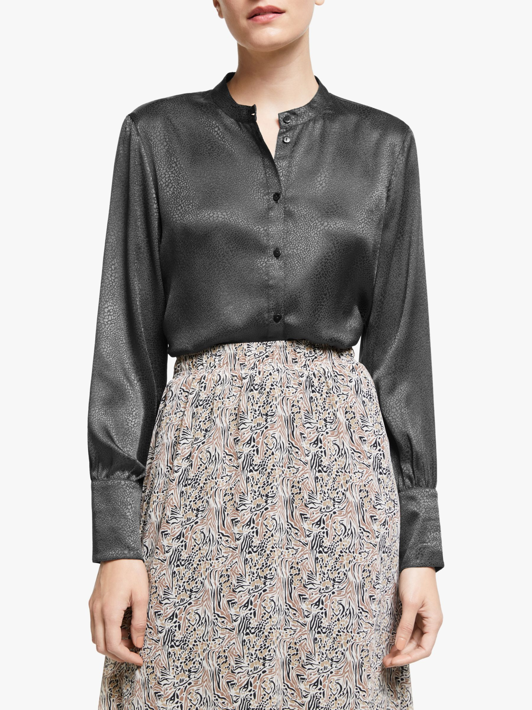 Vero Moda AWARE BY VERO MODA Julia Satin Shirt, Phantom