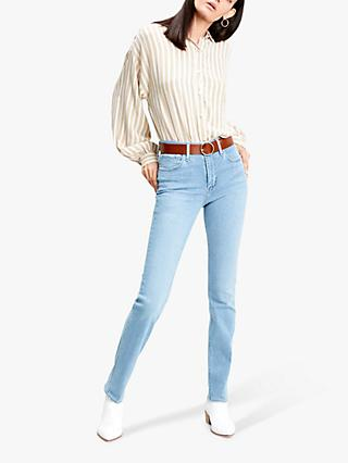 Levi's 724 High Rise Straight Jeans, Los Angeles Steeze
