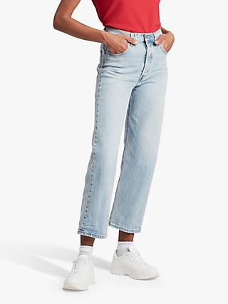 Levi's Ribcage Straight Ankle Jeans, Tango Light