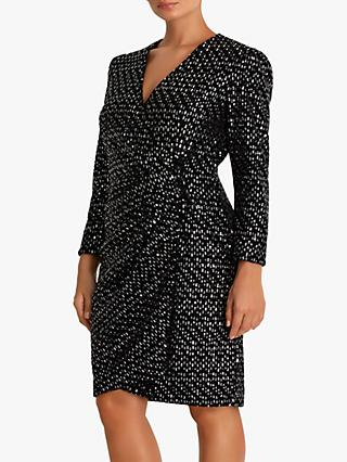 Fenn Wright Manson Petite Bibi Dress, Gunmetal
