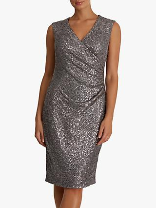 Fenn Wright Manson Petite Heloise Dress, Silver