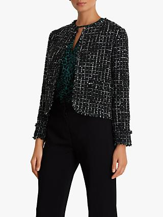 Fenn Wright Manson Petite Hadrienne Tweed Jacket, Green