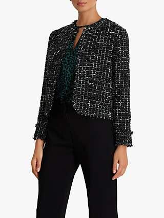 Fenn Wright Manson Petite Hadrienne Tweed Jacket, Green