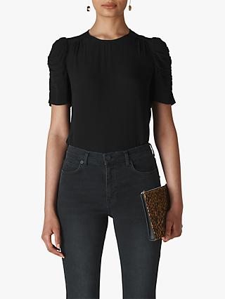 Whistles Nelly Shell Top, Black