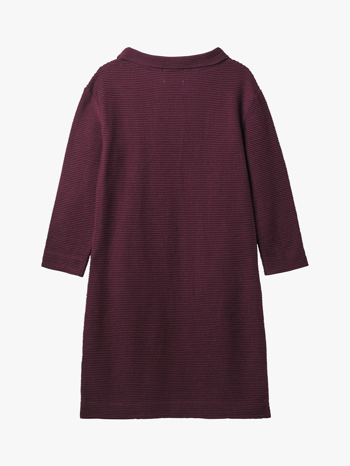 Buy White Stuff Bellever Cowl Dress, Floral Plum Print, 6 Online at johnlewis.com